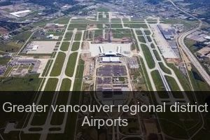 Greater vancouver regional district Airports